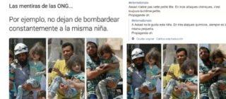 La historia de la niña que aparece rescatada por tres personas diferentes: pasaba de unos brazos a otros tras un bombardeo en Siria
