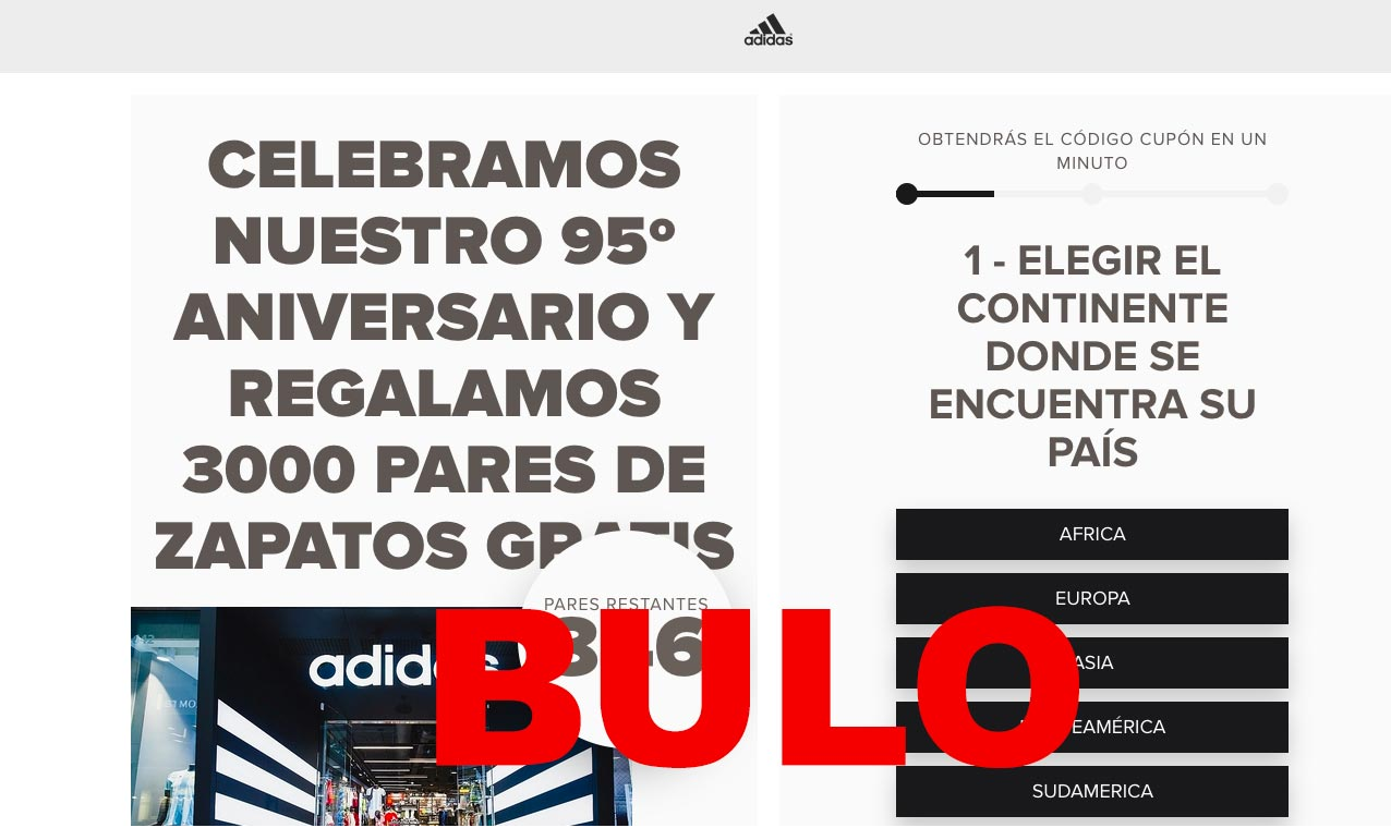 adidas regala 300 pares de zapatillas