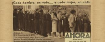 El PSOE no votó en 1931 en contra del voto femenino