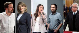 Qué sabemos de los sueldos de los ministros de Unidas Podemos y sus confluencias