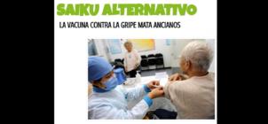 """No, no hay ninguna evidencia de que la vacuna contra la gripe """"mate ancianos"""": es falso"""