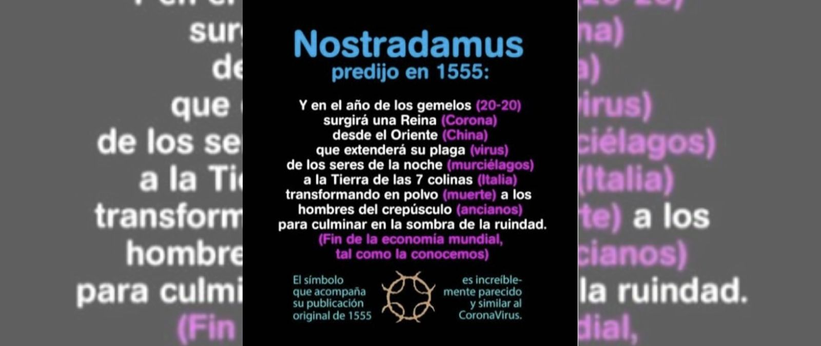 Coronavirus: Nostradamus l'a-t-il prédit?