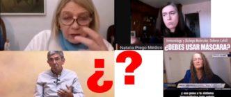 Mentiras y afirmaciones sin evidencia científica del vídeo de Natalia Prego y otros supuestos médicos contra el uso de las mascarillas