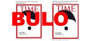 No, la revista Time no ha publicado una portada de  Hitler con Trump como bigote