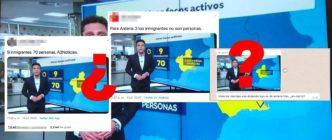 """¿Qué sabemos sobre el grafismo de Antena 3 que habla de """"9 inmigrantes"""" y """"70 personas""""?"""