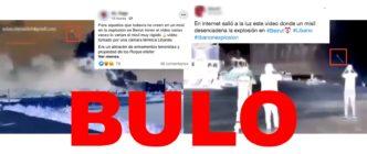 No, este vídeo que muestra que un misil provocó la explosión de Beirut no es real: es un montaje