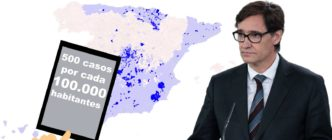 Si la recomendación del Ministerio de Sanidad se aplicara a todo el país habría que confinar al menos 379 municipios