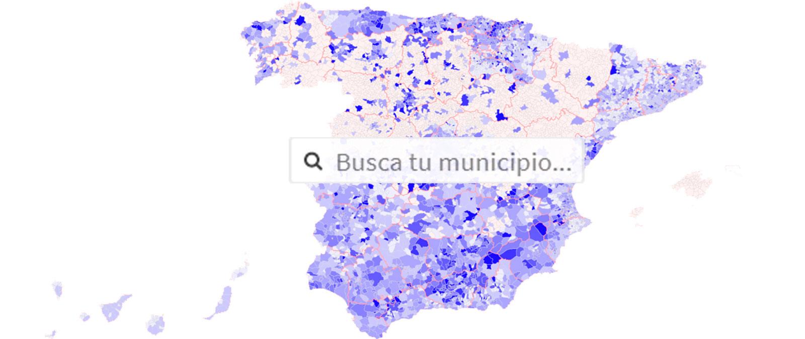 MAPA COVID-19: consulta cuántos casos de coronavirus hay en tu municipio - Maldita.es