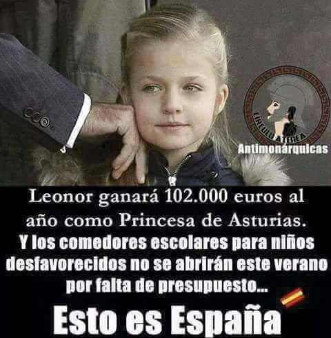 No, ni la Princesa Leonor ni la Infanta Sofía cobran ningún sueldo ni ninguna asignación