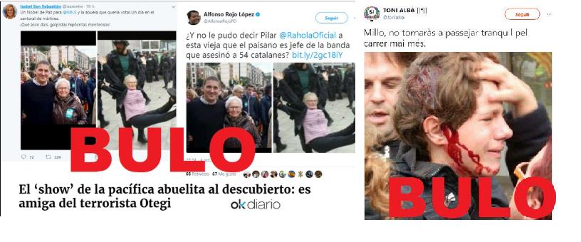 10 bulos sobre el 1-O: Cataluña, campo de batalla de la desinformación