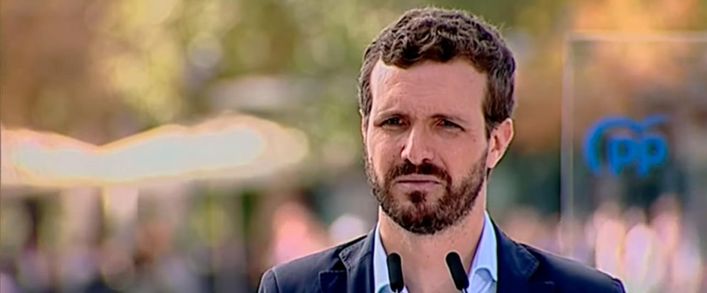 """Es falso que en las campañas electorales """"se ha hecho siempre un debate cara a cara"""" entre los """"dos grandes partidos"""" como dice Pablo Casado"""