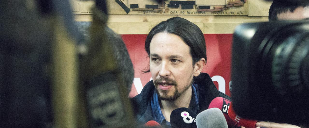 """Es falso que la suma de Podemos e IU obtuviera """"un milloncito más [de votos] que el partido socialista"""" como dice Pablo Iglesias"""