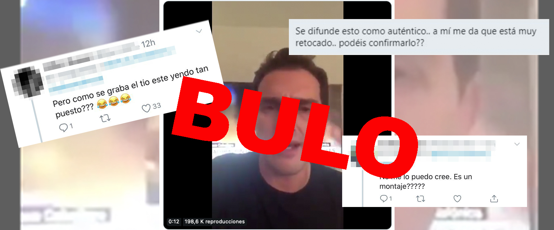"""No, este vídeo de Albert Rivera en el que habla de la situación de Cataluña donde le acusan de ir """"puesto"""" no es real, está ralentizado"""